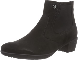 Hartjes Womens XS City Boot 15372 Warm Lined Classic Boots Half Length Black Size: 7-7.5