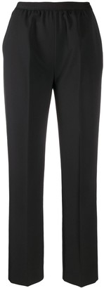Maison Margiela High-Waisted Pleat Detail Trousers
