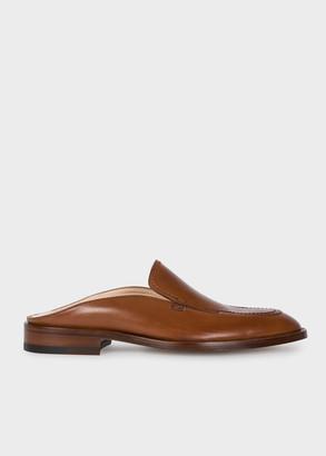 Paul Smith Women's Tan Leather 'Juana' Loafers