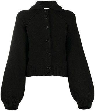 Lemaire Spread-Collar Buttoned Cardigan