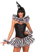 Leg Avenue Women's 3 Piece Harlequin Costume Kit