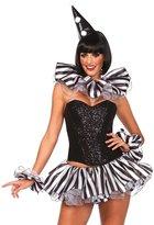 Leg Avenue Women's 3 Piece Harlequin Costume Kit