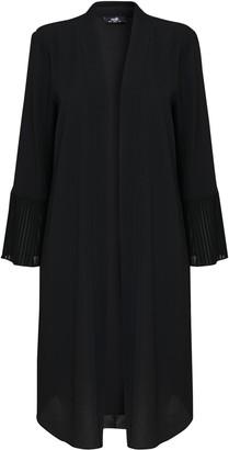 Wallis Black Flute Sleeve Duster Jacket
