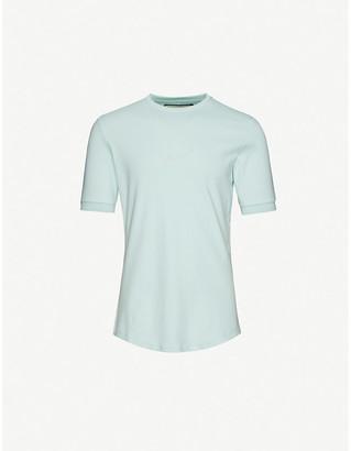 Prevu Signature logo-embroidered cotton-jersey T-shirt