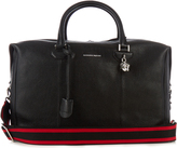 Alexander McQueen Grained-leather holdall