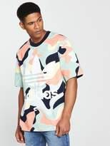 adidas Originals HZA Valley Printed T-Shirt - Multi