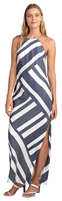 Trina Turk Vacay Dress (Ink/Whitewash) Women's Dress