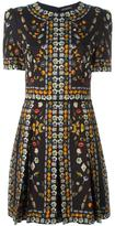 Alexander McQueen Obsession mini dress
