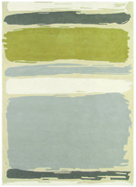 Sanderson Abstract Linden/Silver Rug - 140x200cm