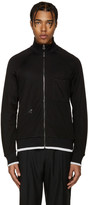 Lanvin Black Tracksuit Zip-Up Sweater