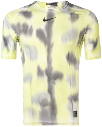 Alyx x Nike tie-dye fitted T-shirt