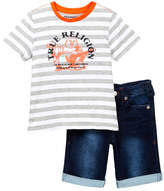 True Religion 2-Piece Tee Set (Toddler Boys)