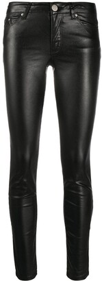 Karl Lagerfeld Paris Skinny Metallic Denim Pants