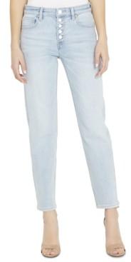 Buffalo David Bitton Slim Straight-Leg Button-Fly Jeans