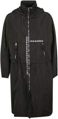 Dice Kayek Crystal Embellished Trench