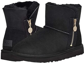 UGG Bailey Zip Mini (Black) Women's Shoes