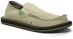 Sanuk Men's Hemp Slip-On Loafers Men's Shoes