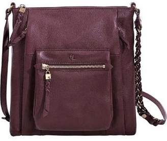 Elliott Lucca Cabernet Leather Crossbody