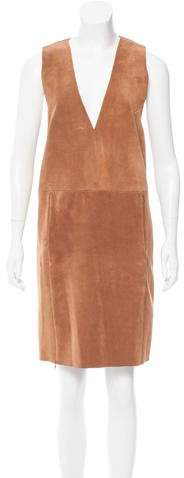 Veda Canal Leather Dress