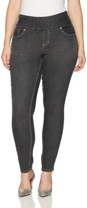 Jag Jeans Women's Plus Size Nora Jackie Skinny Pull Supreme Denim