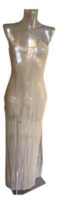 Gianfranco Ferre Beige Synthetic Dresses