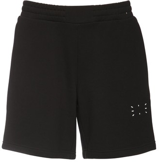 McQ Icon Zero Logo Cotton Sweat Shorts
