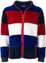 Tommy Hilfiger striped zip cardigan
