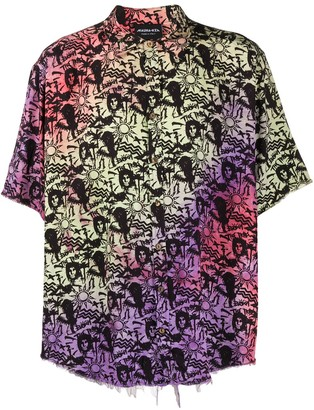 Mauna Kea Embroidered Short-Sleeve Shirt