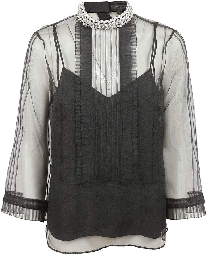 Marc Jacobs Lace Detail Top