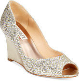 Badgley Mischka Awake Evening Wedge Pumps