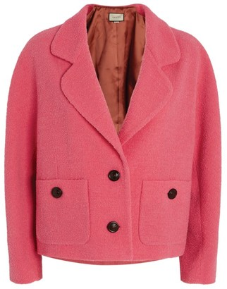 Gucci Wool-Rich Cropped Jacket