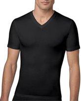 Spanx Cotton Compression V-Neck T-Shirt, M