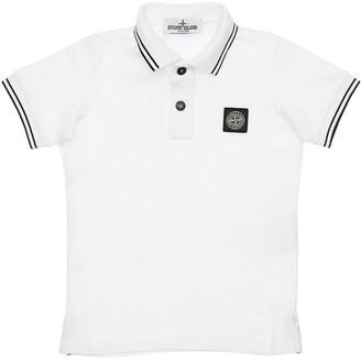 Stone Island Cotton Pique Polo Shirt