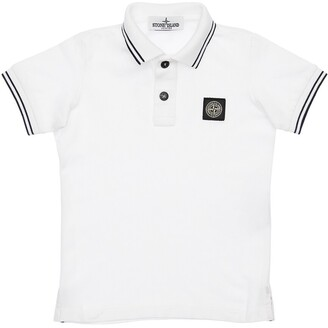 Stone Island COTTON PIQUE POLO SHIRT
