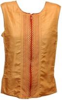 Issey Miyake Orange Top for Women Vintage