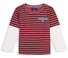 Andy & Evan Baby's & Little Boy's Stripe Two-In-One Tee