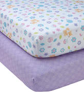 NoJo Little Love by Adorable Orchard 2-Pc. Fitted Crib Sheet Set Bedding