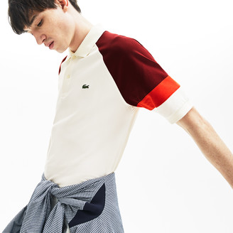 Lacoste Men's L.12.12 Raglan Sleeved Pique Polo