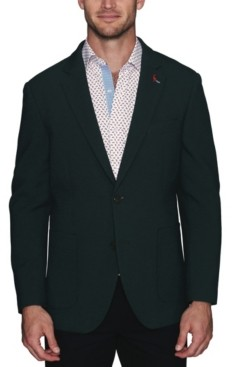 Tailorbyrd Men's Stretch Waffle Textured Sport Coat