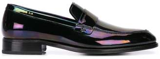 Givenchy iridescent effect loafers
