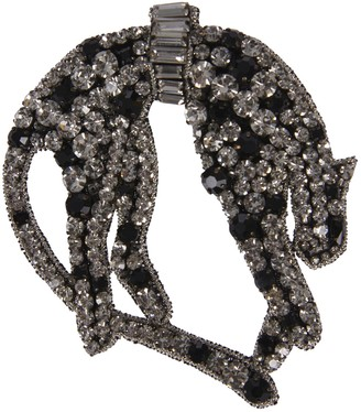 N°21 N.21 Crystal Embellished Brooch