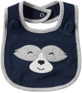 Carter's Baby Boy Friendly Face Applique Bib