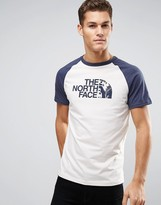 The North Face T-Shirt Contrast Raglan Sleeve