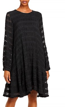 Anine Bing Viola Striped Shift Dress