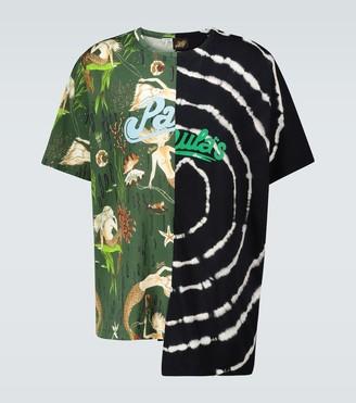 Loewe Paula's Ibiza asymmetric printed T-shirt