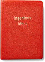 Graphic Image Leather Journal, Red
