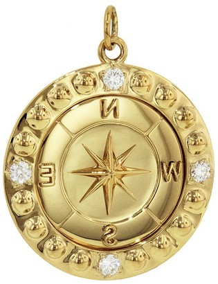 Foundrae Diamond Course Correction Yellow Gold Medallion