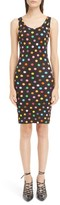 Givenchy Women's Marg Dot Print Jersey Dress