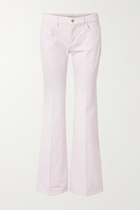 Current/Elliott The Wray High-rise Flared Jeans - Pastel pink