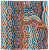 Missoni knitted pattern scarf